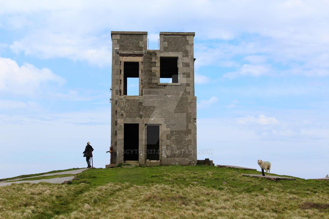 ++ Abandoned building on Bressay ++ by Scythe137