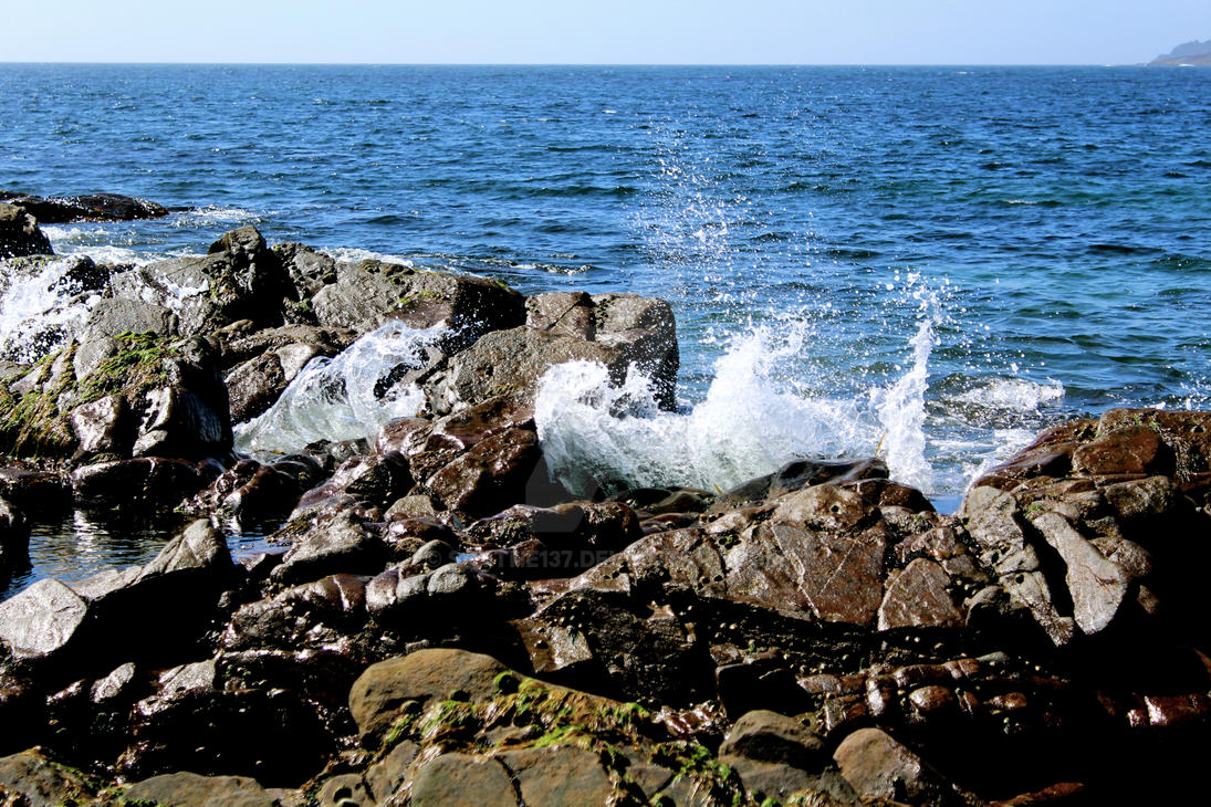 ++ Waves on the coast ++ by Scythe137