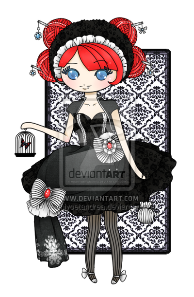 .: Lace Lolita :. by michiyoetandrea
