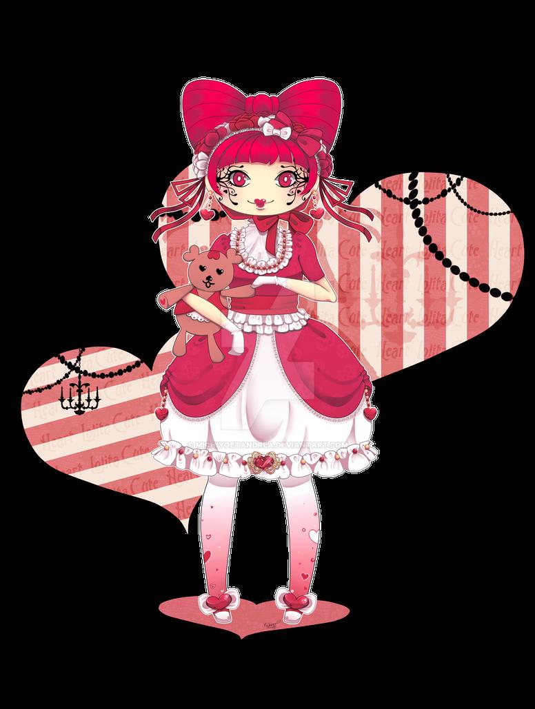 .: Cute Heart Lolita :. by michiyoetandrea