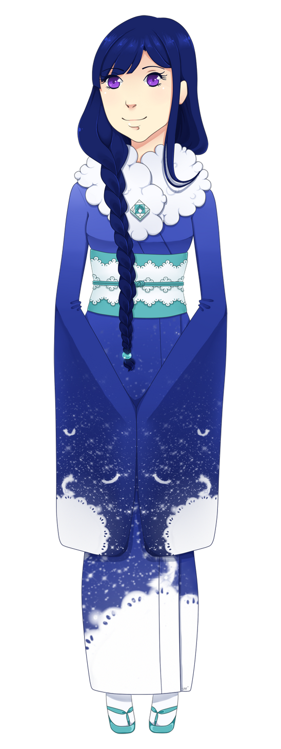 .: Alys in a Winter  Kimono :. by michiyoetandrea