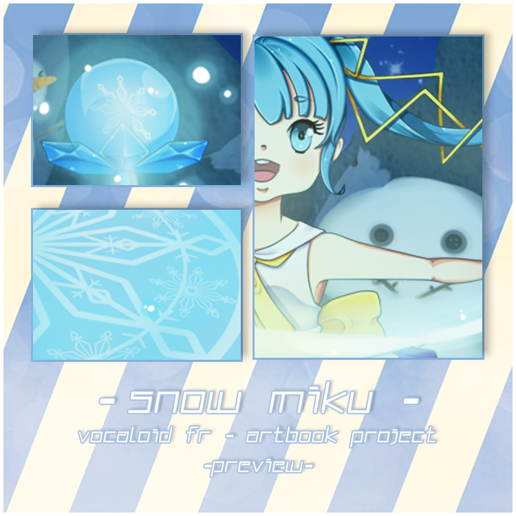 .: Magical Snow Miku Artbook Project Preview :. by michiyoetandrea