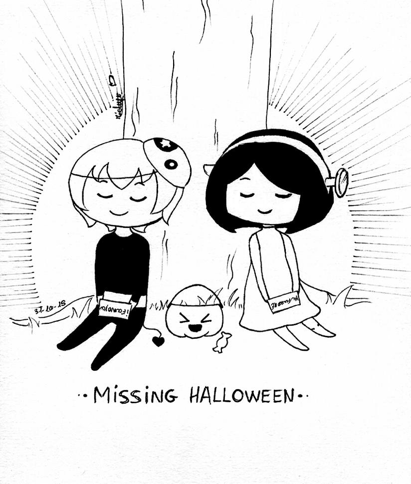 .: Missing Halloween :. by michiyoetandrea