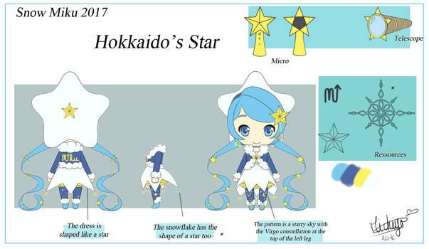 .: Snow Miku 2017 - Hokkaido's Star :.