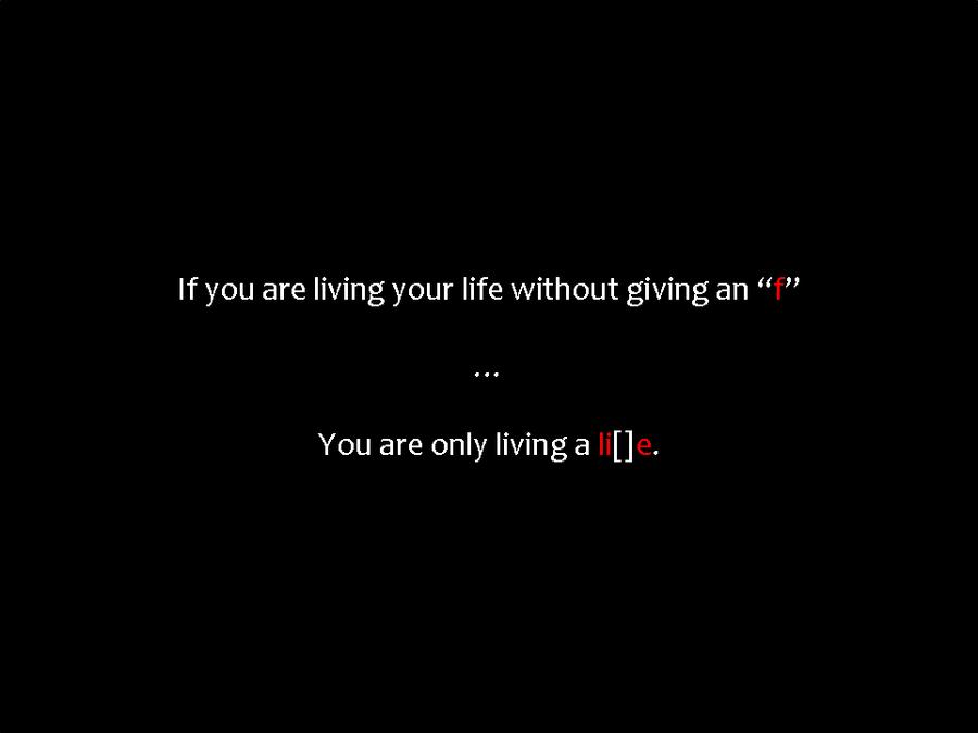 Living A Lie Quotes. QuotesGram