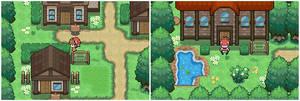 Pokemon Resurgent.(Gesel town)