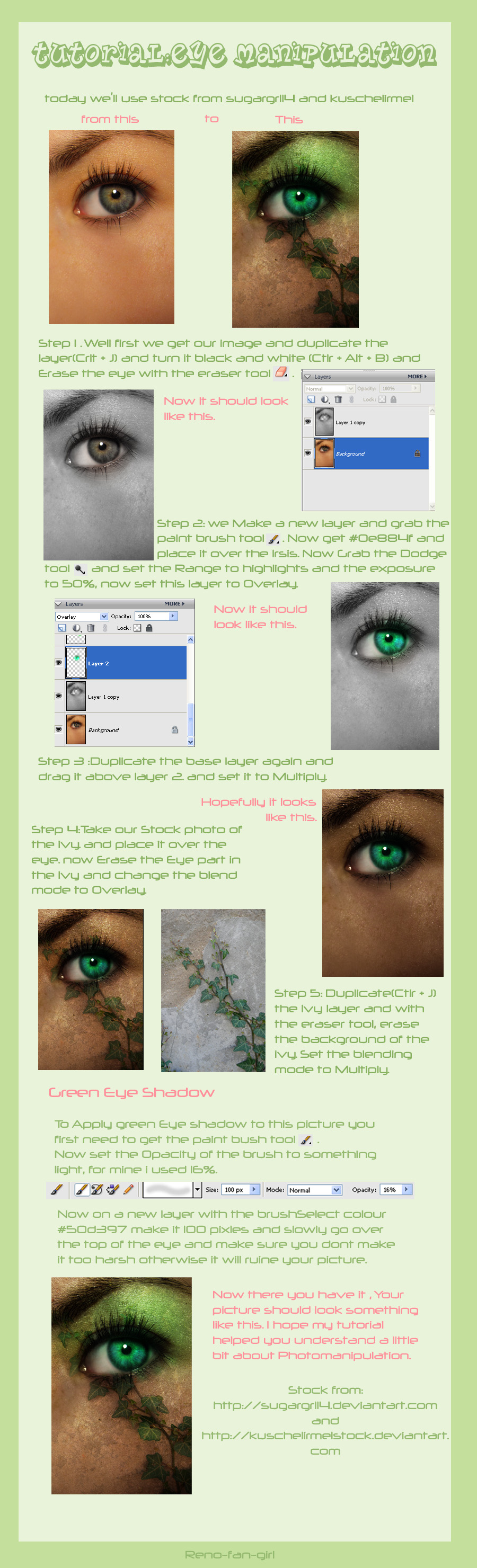 Tutorial : Eye Manipulation