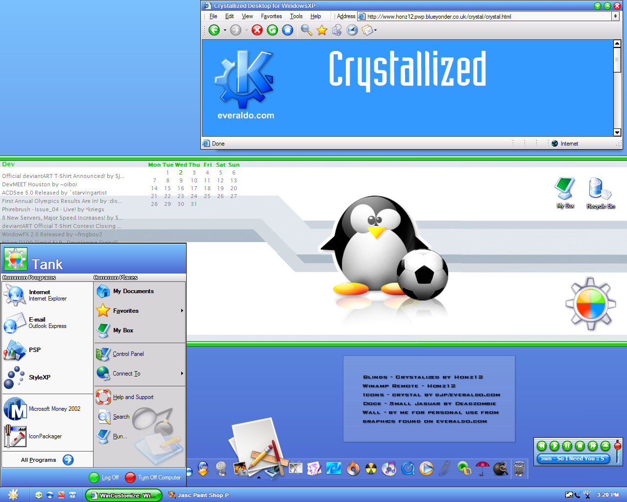 Crystalized XP by titanpsp