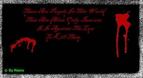 The Blood Law