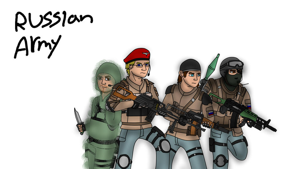 Nostalgia Company: Russian Army by LBFable