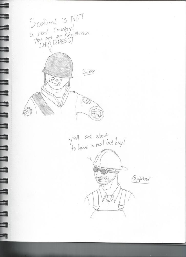 TF2 Sketches 2 by LBFable