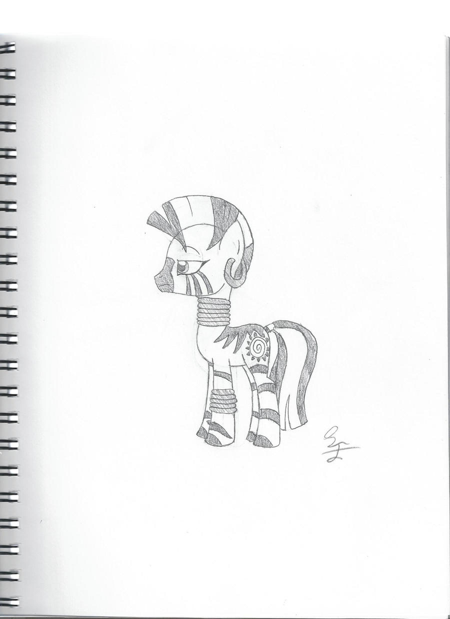 Skeptical Zecora by LBFable
