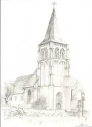 Waalre, Wilibrordus Kerk. by TheSkyte