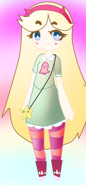 Star Butterfly by Amanecer-Dawn
