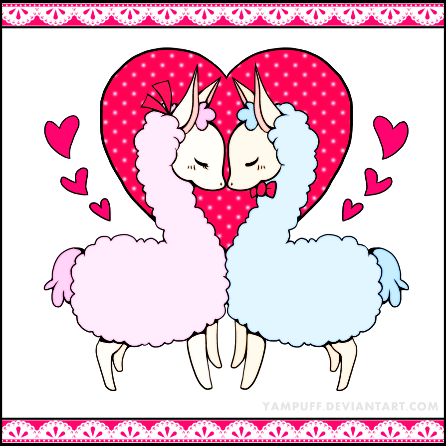 Llama Llove by bhudicae