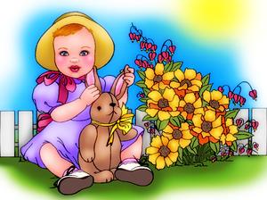Baby's Bunny by bhudicae