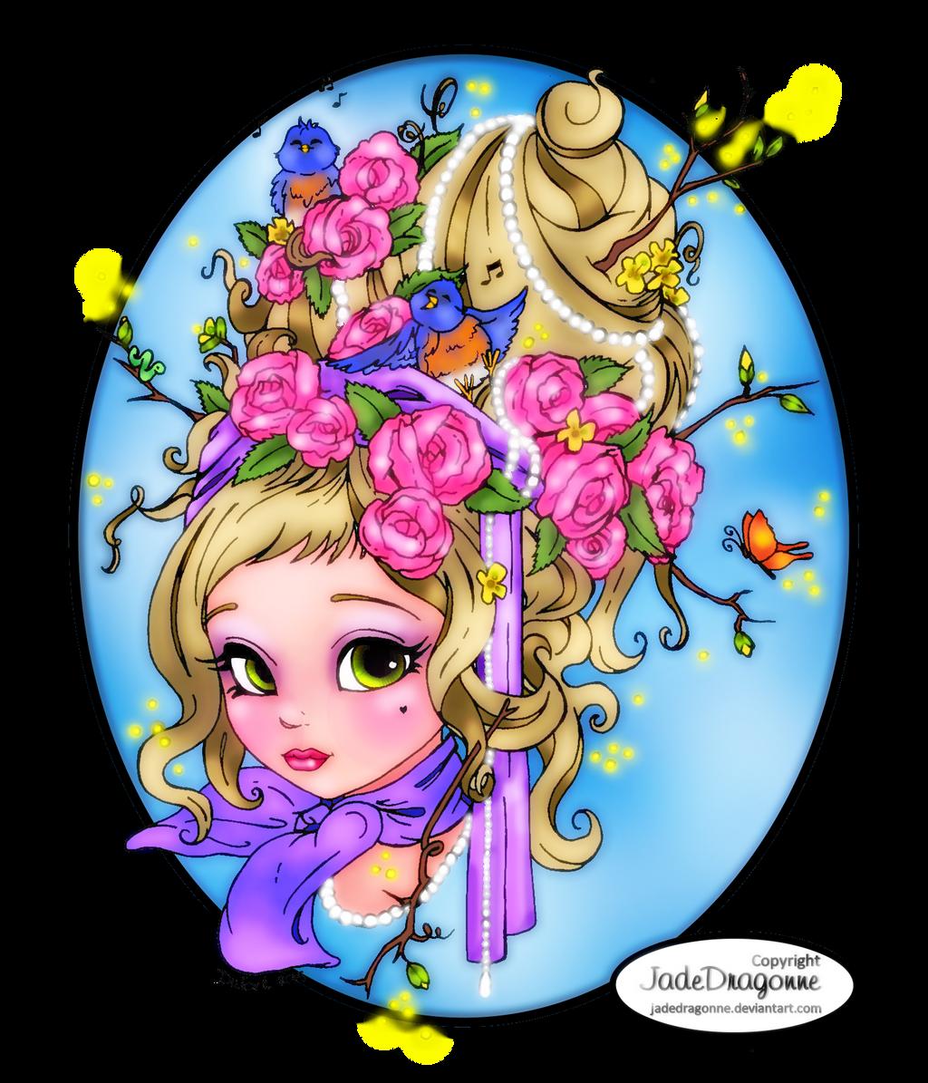 Spring Maiden by bhudicae