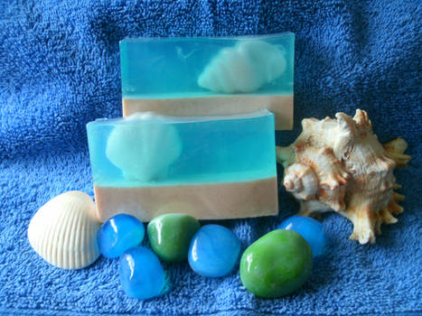 Pearly Shells soap