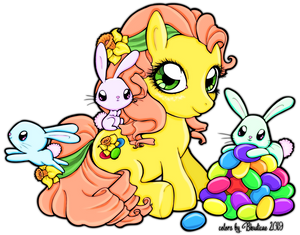 Chibivi Easter Pony