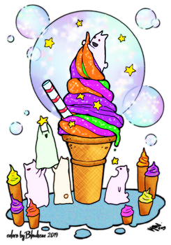 Ice Cream and Stars