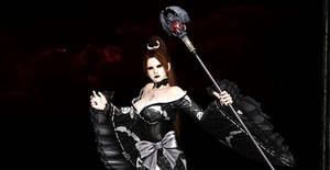 Mai Goth Look Close Up by SkullsKnight