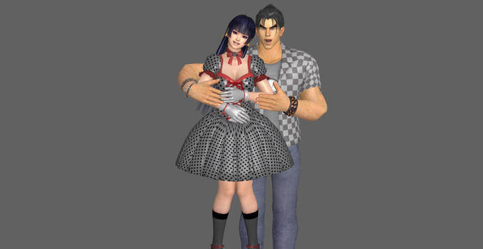 The New Bf And Gf, Jin n NyoTengu.