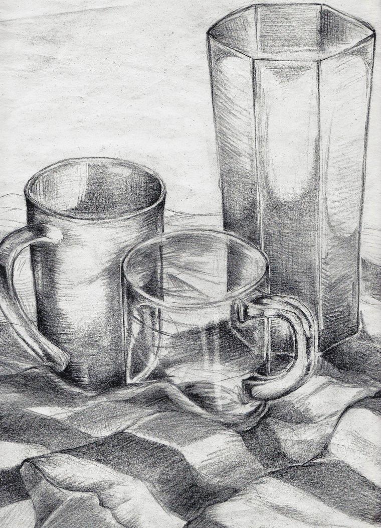 Drawing 03 Still Life by FrauA on DeviantArt