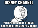Classic Disney should be back