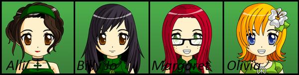 Mii D Games: Team Green by WiiMiiYay