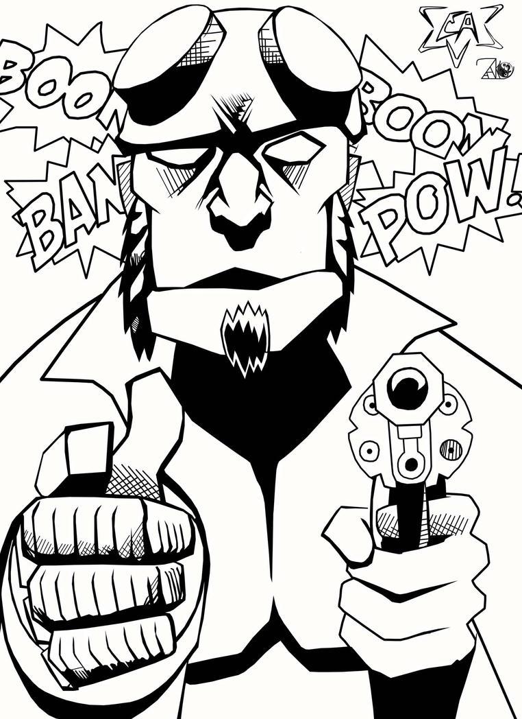 Bang Bang (Inks by NewEraStudios) by ArlanEAkyl