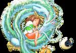 Render Chihiro and Haku [El Viaje de Chihiro] #1