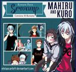 Render Pack ~ SerVamp [Kuro and Mahiru]