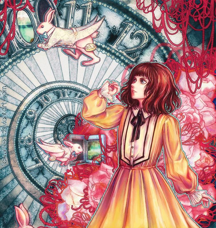 Alice's Labyrinth by cyan-fox