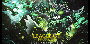 League Of Legends C4d SIgnature by Freezmy