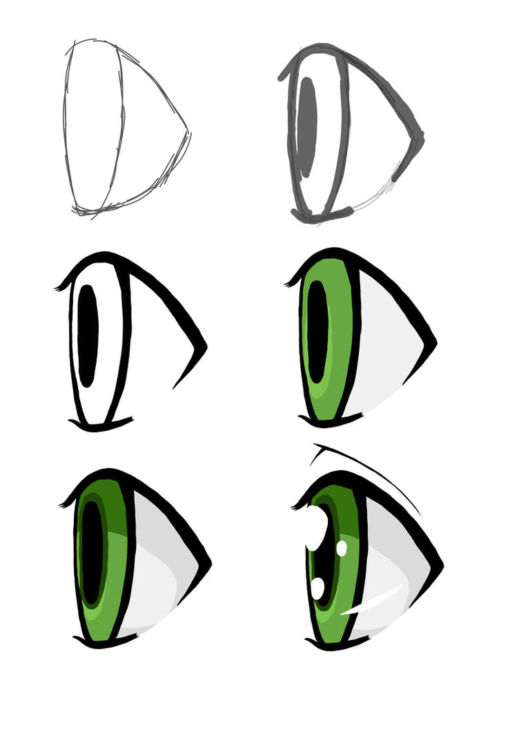 Eyes On The Side By Sleepymonster How To Draw Anime Easy To Draw Anime