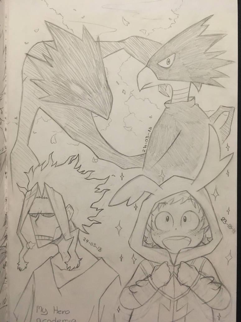 MHA drawings by sleepy-monster