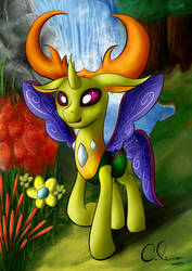 King Thorax by CafeComPoneis