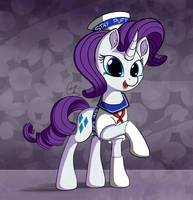 Stay Puft Rarity (Request) by Calenita