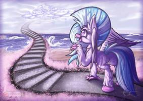 Stairway to Friendship by Calenita