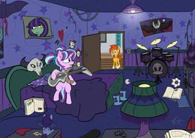 Her Bedroom by Calenita
