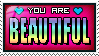 you are beautiful. by huoeme