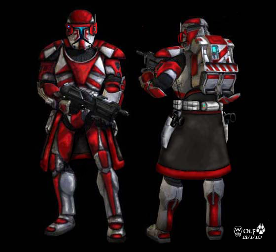 Republic Commando Armor by JohnGWolf