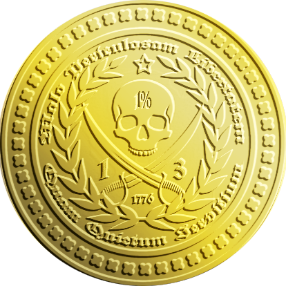 gold pirate freedom coin by johngwolf on deviantart