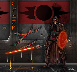 Darth Vestage by JohnGWolf