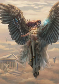 The goddess' heaven