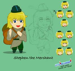 [LHR: Pudding Hunt] Stephen the Merchant (Base)
