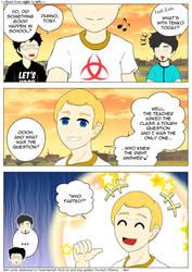 [Mini Comic] The Question ft. TenkoSama9 by Zarashi99