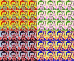 Stephen Colbert Pop-Art by mLori1971