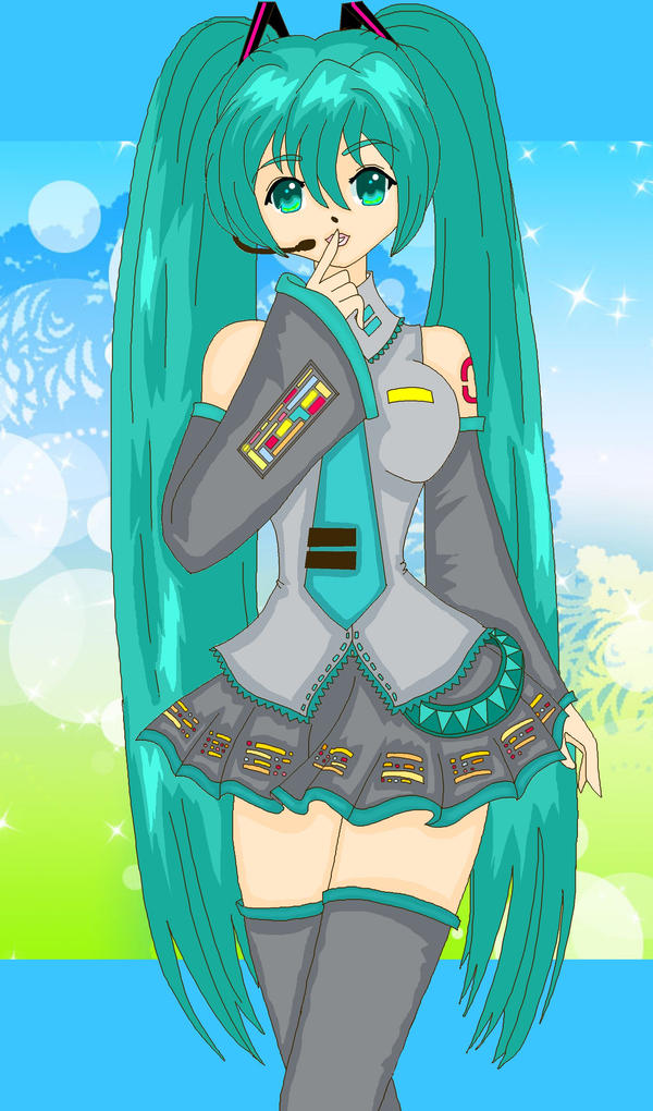 .Miku.Hatsune. by Sailor-Serenity