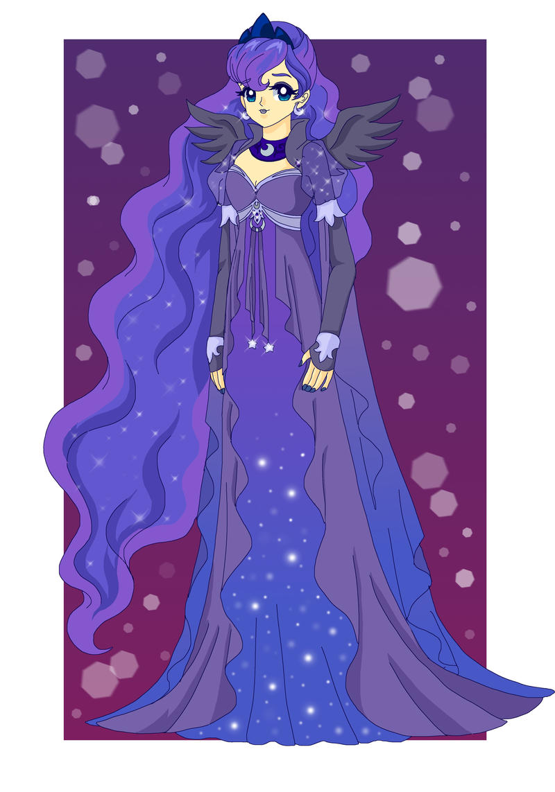 MLP - Human Princess Luna by Sailor-Serenity on DeviantArt